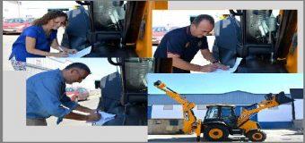 BENACAZÓN – Nueva retroexcavadora para usos municipales