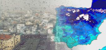 Lluvias, heladas y frío: una borrasca afectará a partir de este jueves a todo el país