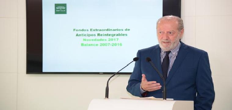 La Diputación de Sevilla prestará a coste cero más de 46 millones de euros a 47 municipios de la provincia - ABC