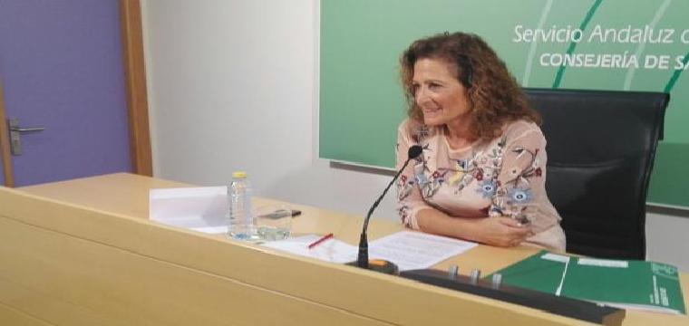 María Ángeles Fernández durante la rueda de prensa de este jueves - P. Y.