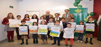 Asaja y Caja Rural del Sur entregan los premios del concurso de pintura infantil, con 600 niños participantes