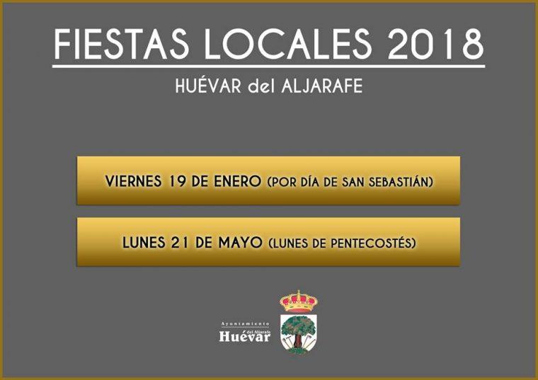 Fiestas Locales en Huévar del Aljarafe [Sevilla}