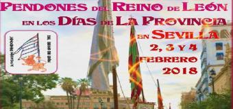 Los Pendones del Reino de León desfilarán este sábado en Sevilla