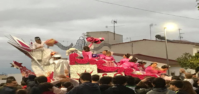 La Estrella de la Ilusión de la Cabalgata de Reyes Magos de Huévar del Aljarafe