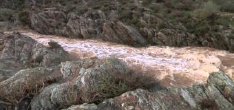 Río Guadiamar – Primeras lluvias por el arroyo de Los Frailes