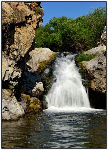 Garganta-del río guadiamar-cascada-gerena-sevilla