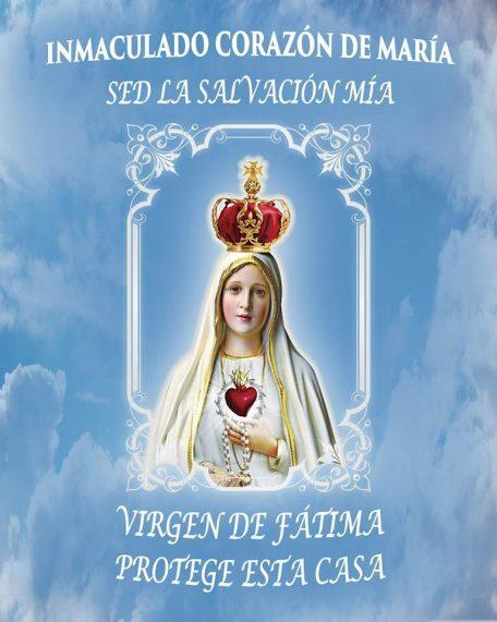 Bandera de la Virgen
