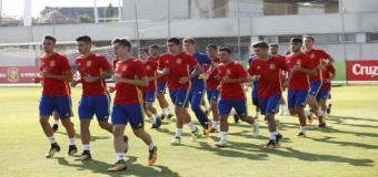 Convocatoria de la Sub-19 para unas jornadas de entrenamiento en Las Rozas