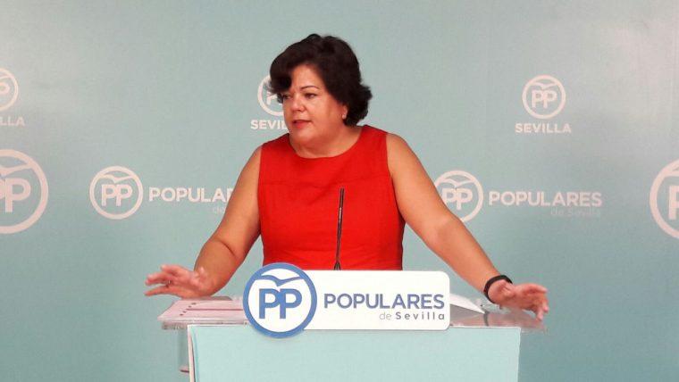 María E. Moreno Oropesa - Portavoz del PP en Huévar