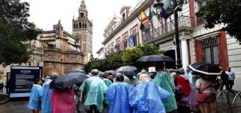 Las lluvias podrían llegar a Andalucía a partir del lunes