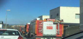 Un brasero, posible causa del incendio en una casa en la Urb. Virgen de Fátima