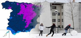 Frío, mucho frío para la última semana del invierno: ¡hasta 15ºC menos de lo normal!