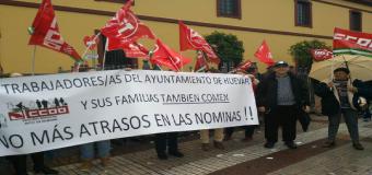 Trabajadores Municipales de Huévar del Aljarafe celebran una asamblea el lunes por el impago de varias nóminas