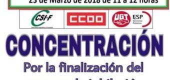 CCOO convoca movilizaciones contra la paralización del Decreto para la jubilación anticipada de los policías locales