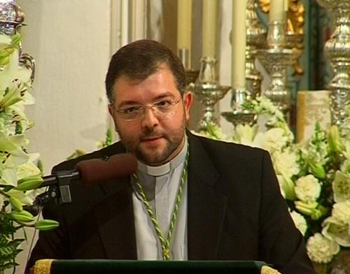 Rvdo. Padre D. Antonio Romero Padilla - Párroco de Carrión de los Cespedes