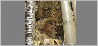 HUEVAR – Una vela del Paso de Maria Santisima de la Sangre recordara a Gabriel