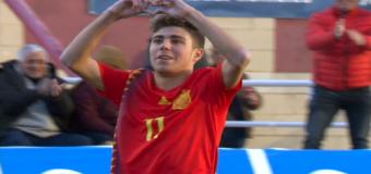 Pozo anota un tanto ante Bélgica