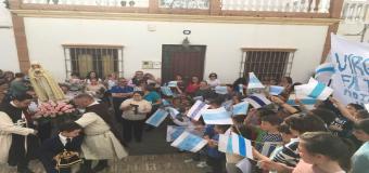 El  «Inmaculado Corazón de María de Fátima» llego a Huévar del Aljarafe