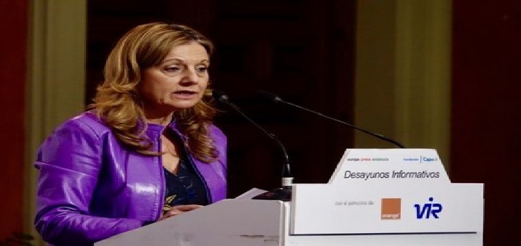 consejera de Salud de la Junta de Andalucía, Marina Álvarez