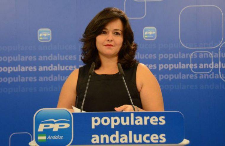 presidenta del PP de Sevilla, Virginia Pérez