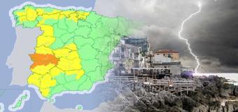 Avisos en 24 provincias: precaución con las tormentas y el granizo