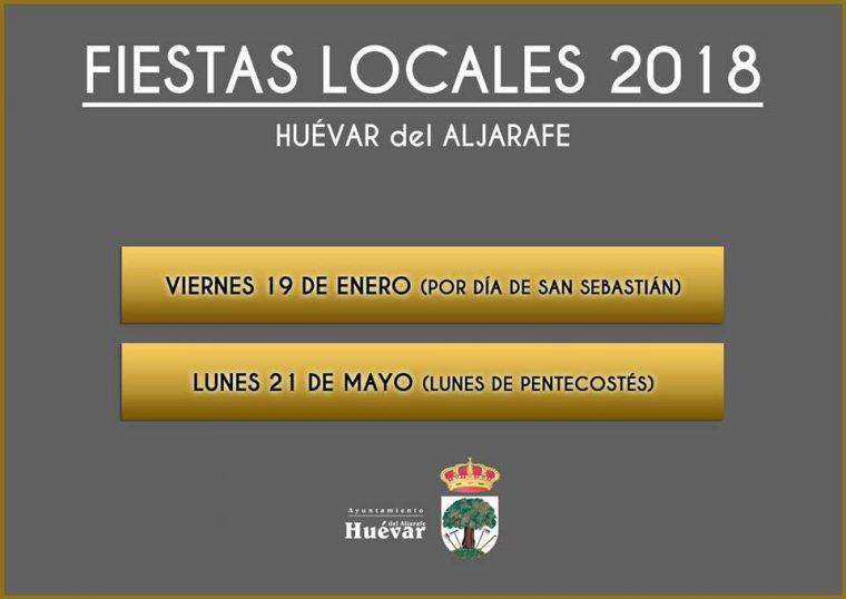 Fiestas Locales en Huévar