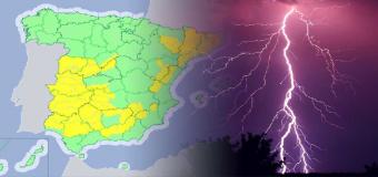 23 provincias en riesgo por tormentones
