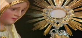 Los devotos de la Virgen de Fátima tendran Santo Rosario y adoración al Santísimo en la Parroquia de Huévar