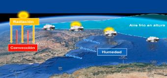 Tormentas y ascenso de temperaturas para comenzar mayo