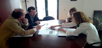 BENACAZÓN- La Alcaldesa y el Jefe de Demarcación acuerdan próximas actuaciones en materia de carreteras