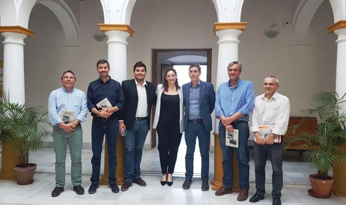 Alcaldes y concejales de la segunda corona del Aljarafe piden la ampliación del C-5. / El Correo