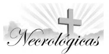 NECROLOGICA