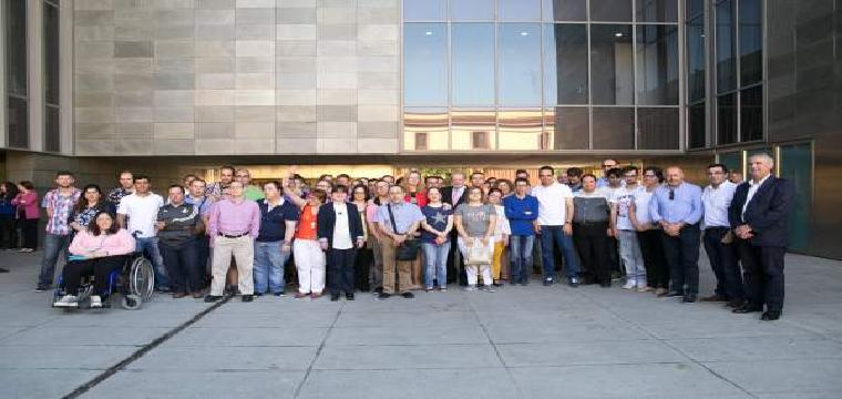 II Encuentro de Jóvenes en Prácticas con Capacidades Diferentes en la Diputación