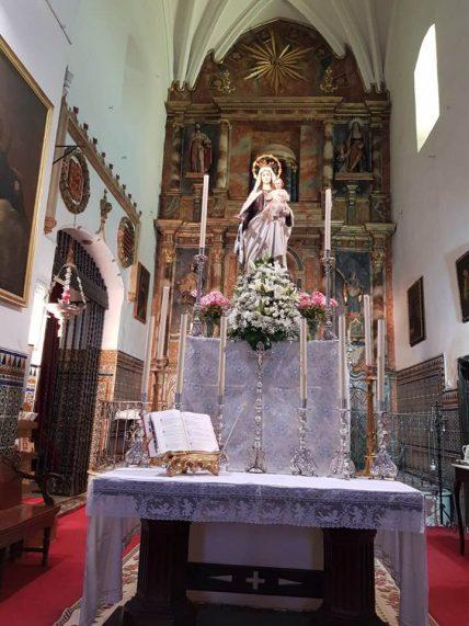 Virgen del Carmen de la Parroquia de Huévar