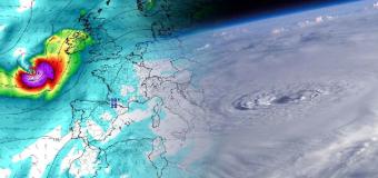 Aviso especial de la Aemet: el ciclón Helene afectará a España a partir del lunes