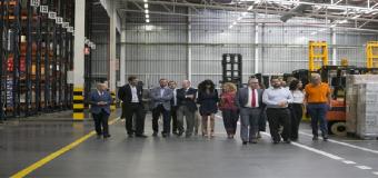 """Villalobos destaca que ampliación de centro logístico de Mercadona en Huévar (Sevilla) """"repercute en desarrollo local"""""""