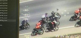 El helicóptero Pegasus de la DGT comienza a denunciar a ciclistas
