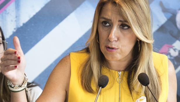 La presidenta de la Junta, Susana Díaz - EFE/Daniel Pérez