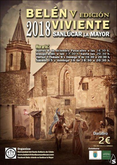 Cartel_Belen_Viviente_2018_Sanlucar_la_Mayor