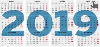 El calendario laboral de 2019 solo permite un gran puente festivo en toda España