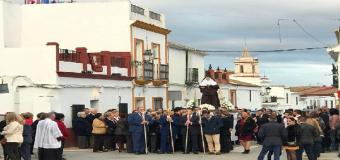 HUEVAR –  La Santa del pueblo recorre las calles