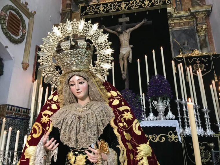 María Santisima de la Sangre y Santo Cristo de la Vera+Cruz