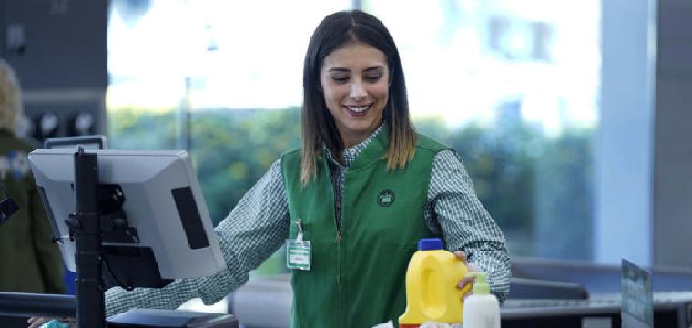 Nuevo uniforme de la cadena de supermercados de Mercadona.