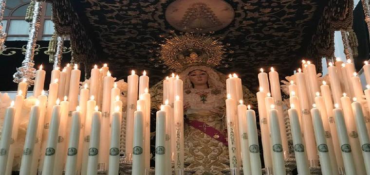 María Santísima de la Sangre - Foto Mbejaroldan
