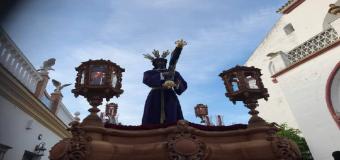 El Señor del Gran Poder dejo sus huellas en Huévar
