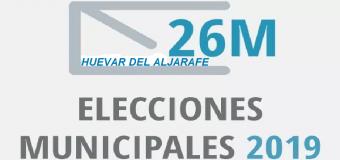 ELECCIONES MUNICIPALES 2019- Huévar se prepara con cuatro candidaturas