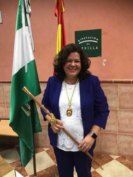 María Eugenia Moreno Oropesa - Alcaldesa del Ayunt de Huévar