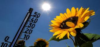 Empieza una ola de calor tras un viernes más fresco