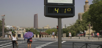 Vuelven los 40 grados a la sombra a Sevilla