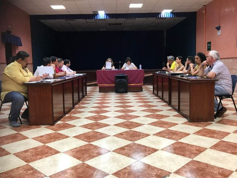 Sesion de Pleno del día 12-07-2019 --Foto. Mbejaroldán